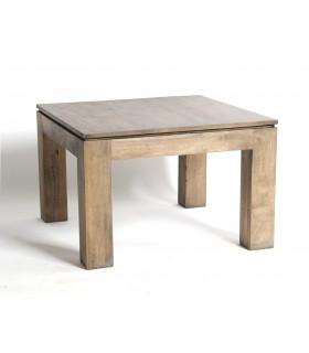 Table basse carré grise