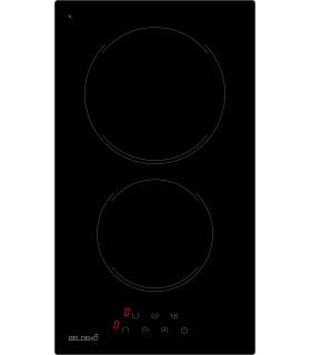 Domino Vitrocéramique - BELDEKO BTV2Z-F03VNO, plaque de cuisson encastrable deux feux, touches sensitives