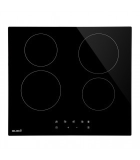 Table de cuisson 4 foyers vitrocéramique encastrable