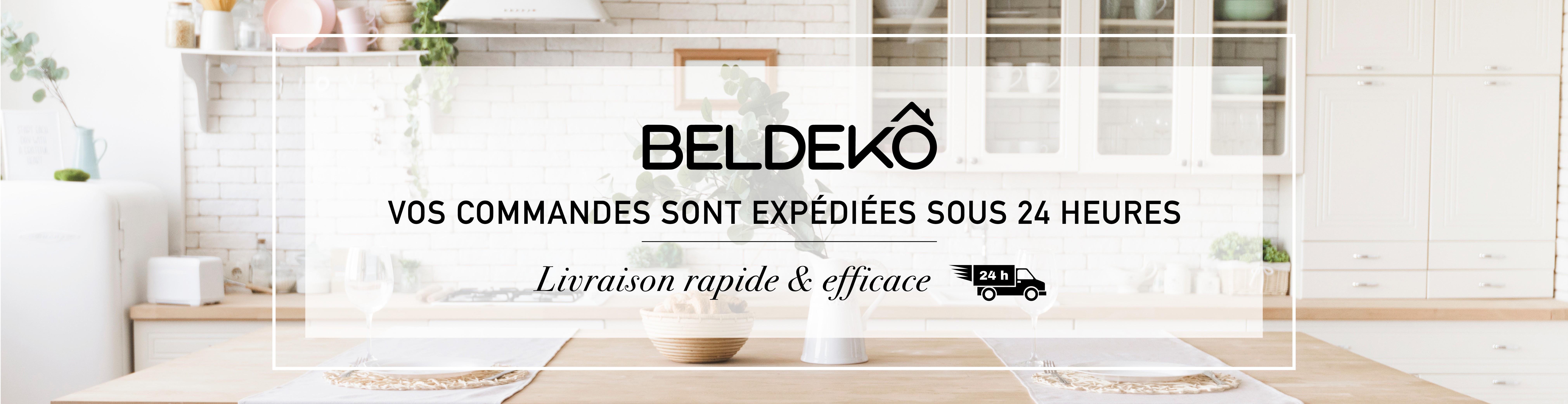 Vos commandes BELDEKO sont expédiées sous 24 heures